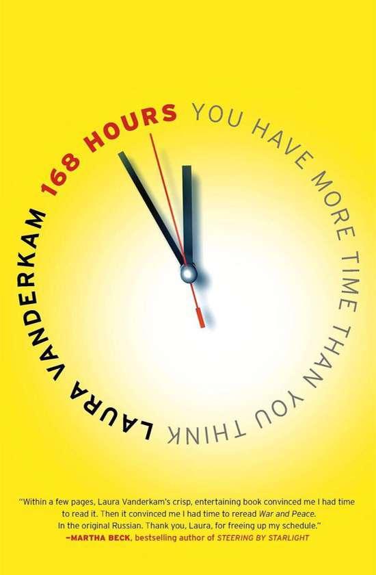 Books on career development: Laura Vanderkam, 168 Hours
