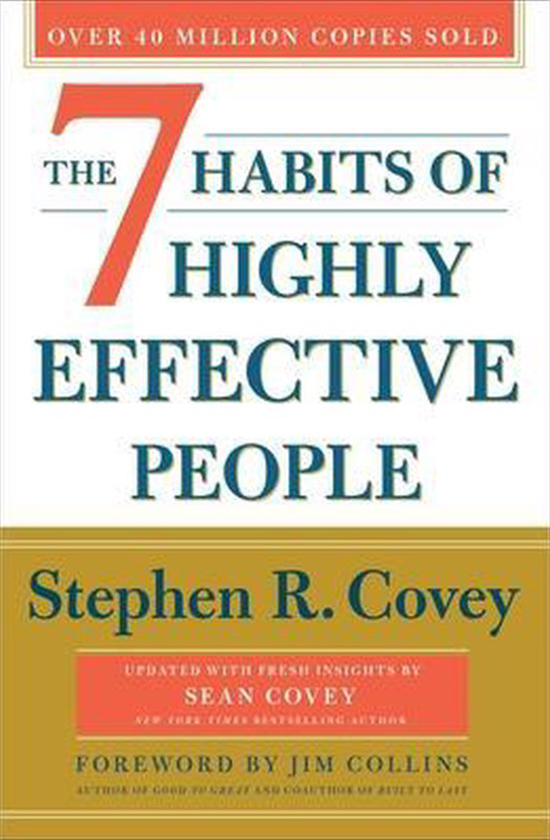 Books on career development: Stephen Covey, 7 Habits of Highly Effective People