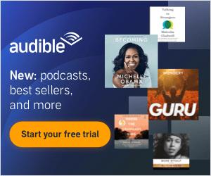 Books on career development: Audible Plus