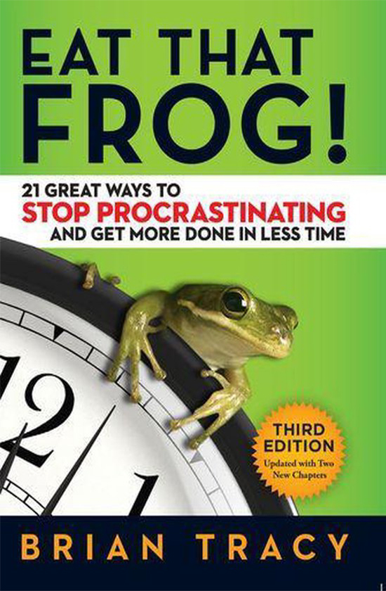 Books on career development: Brian Tracy, Eat That Frog