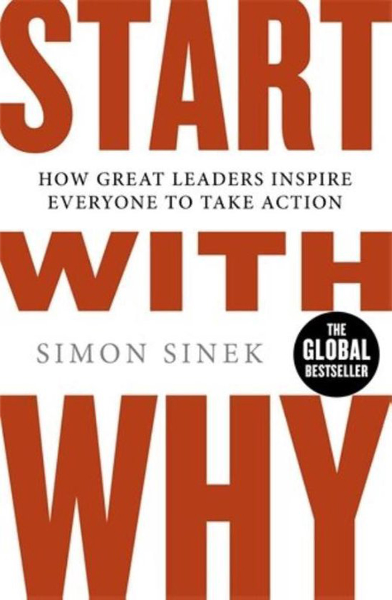 Books on career development: Simon Sinek, Start With Why